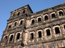 Free The Porta Nigra Close-up Stock Image - 1418371