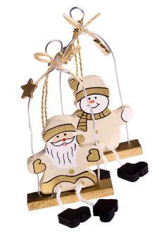 Free Christmas Toys. Snowman And Santa Claus Stock Photos - 1418413