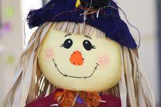Free Friendly Scarecrow Stock Photo - 1418560