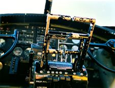 Free B-17 Throttles Royalty Free Stock Images - 1418809