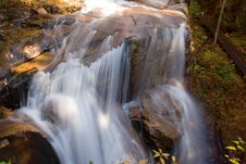 Free Waterfall Over Boulder Royalty Free Stock Photo - 1418885