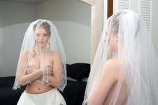 Autumn Bride Stock Photos