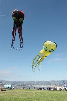 Free Kites Royalty Free Stock Photo - 1419835