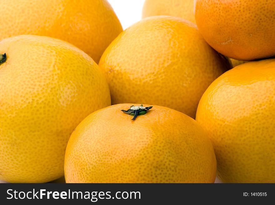 Tangerines and satsumas
