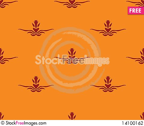 Free Seamless Pattern Stock Photography - 14100162