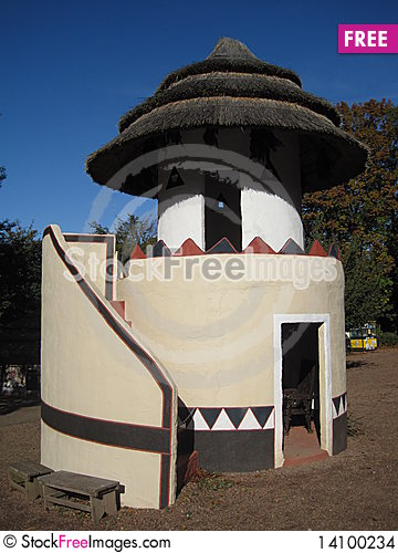 Free African Towerhut Stock Images - 14100234