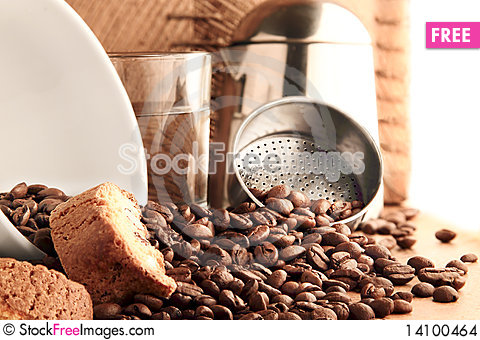 Free Coffee Time Stock Images - 14100464
