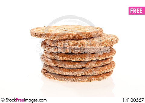 Free Dry Crackers Royalty Free Stock Photography - 14100557