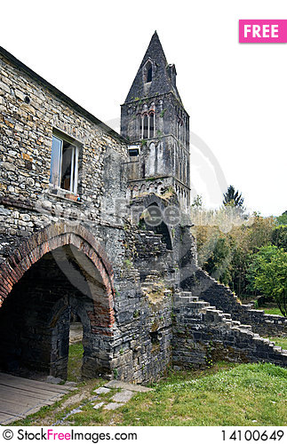Free Monastery Ruins Royalty Free Stock Images - 14100649