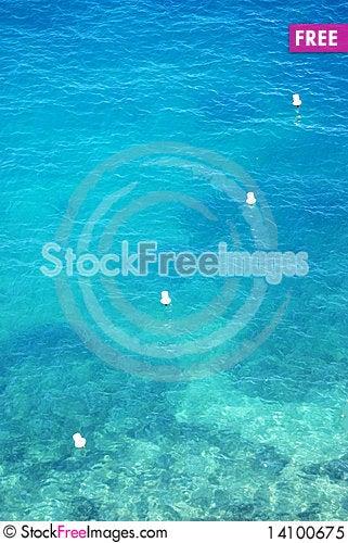 Free Marker Buoys Royalty Free Stock Photo - 14100675