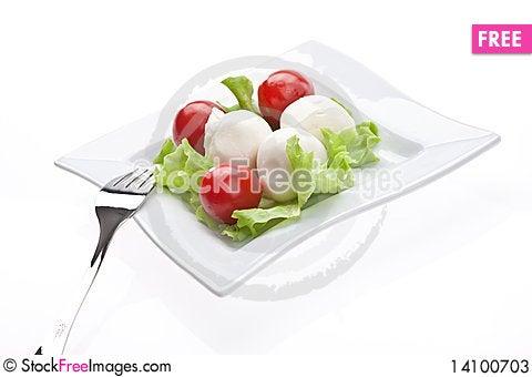 Free Mozzarella Stock Photos - 14100703
