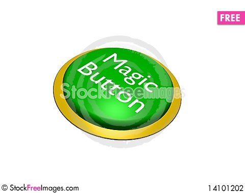 Free Magic Button Stock Photography - 14101202