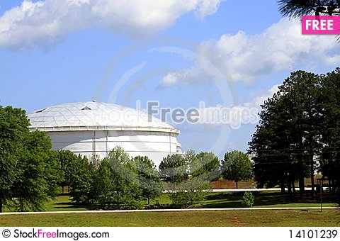 Free Fuel Depot Royalty Free Stock Images - 14101239
