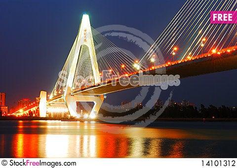 Free Bridge Stock Photography - 14101312