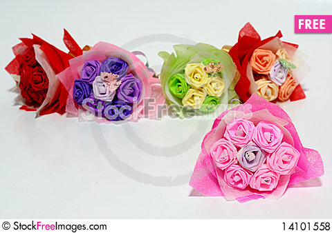 Free Origami Of Flowers Royalty Free Stock Photos - 14101558
