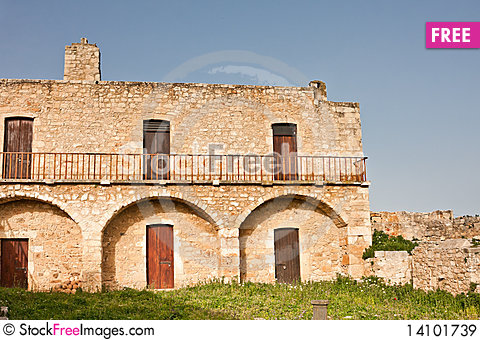 Free Monastery Of St. John Theologian Royalty Free Stock Images - 14101739