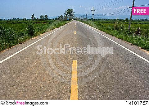 Free Road Royalty Free Stock Photography - 14101757
