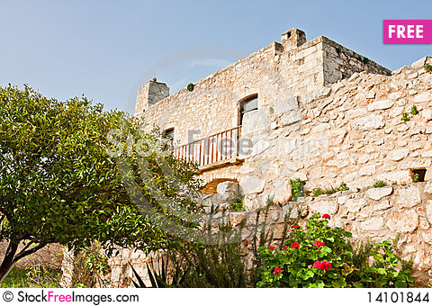 Free Monastery Of St. John Theologian Stock Images - 14101844
