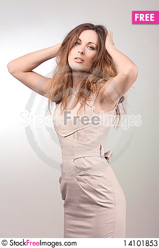 Free Close-up Portrait Of Sexy Caucasian Young Woman Stock Photos - 14101853