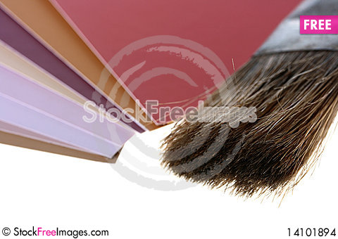 Free Brush For Painting Stock Images - 14101894