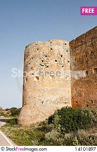 Free Koulos Fortress Royalty Free Stock Photography - 14101897