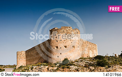 Free Koulos Fortress Royalty Free Stock Image - 14101966