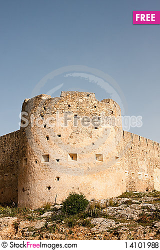 Free Koulos Fortress Royalty Free Stock Photos - 14101988