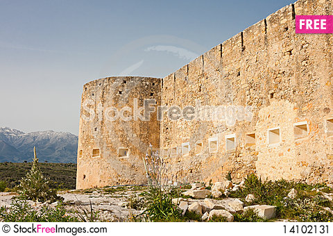 Free Koulos Fortress Stock Image - 14102131