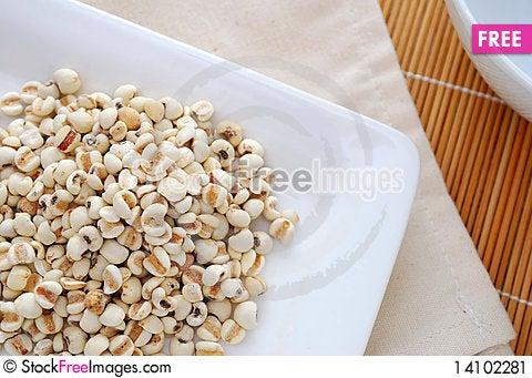Free Dried Barley Seeds Stock Image - 14102281