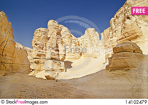 Free The Perazim Canyon. Royalty Free Stock Images - 14102479