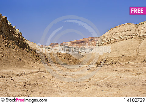 Free The Perazim Canyon. Royalty Free Stock Images - 14102729