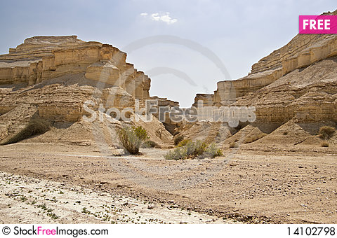 Free The Perazim Canyon. Royalty Free Stock Photos - 14102798