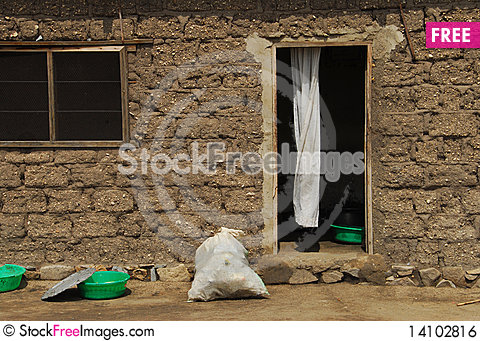Free African House Royalty Free Stock Image - 14102816