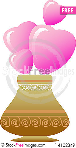 Free Flower Vase Royalty Free Stock Images - 14102849
