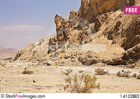 Free The Perazim Canyon. Stock Photos - 14102883