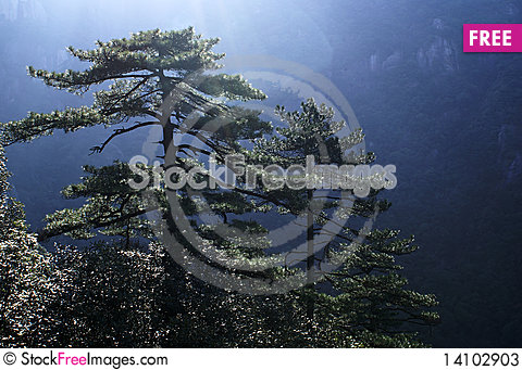 Free Highest Mountan Peak In JiangXi, China Stock Photos - 14102903