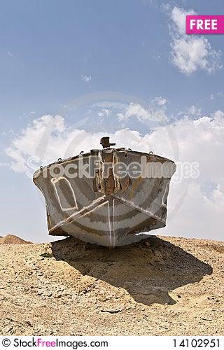 Free The Abandoned Shipwreck Stock Image - 14102951