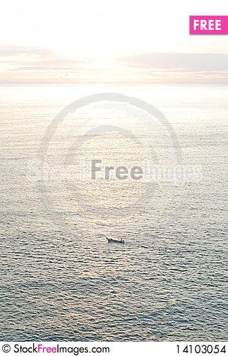 Free Sunset At Phuket Stock Images - 14103054