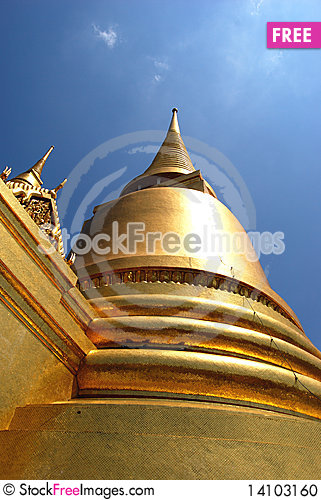 Free Wat Phra Kaeo Stock Photo - 14103160