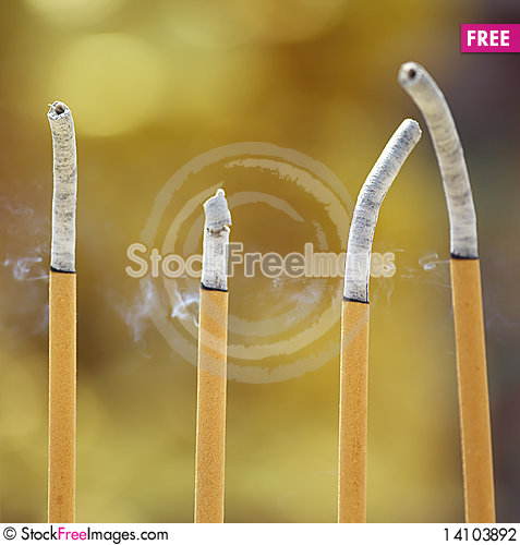 Free Incense Stock Photography - 14103892