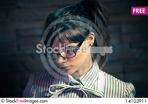 Free Portrait Of A Young Girl Stock Image - 14103911
