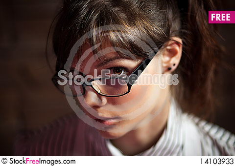 Free Portrait Of A Young Girl Stock Photos - 14103933