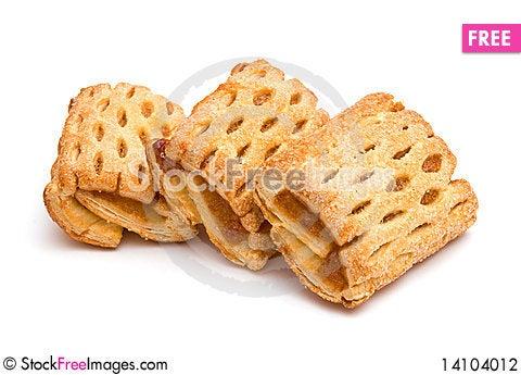 Free Three Cookies Stock Photography - 14104012
