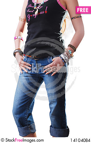 Free Jeans Stock Images - 14104084