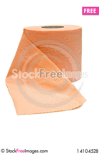 Free Roll Of Toilet Paper Royalty Free Stock Photos - 14104528