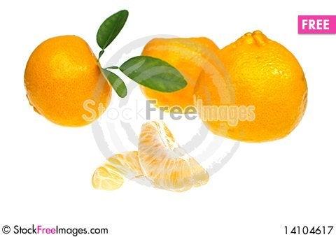 Free Mandarin Or Tangerine Royalty Free Stock Photography - 14104617