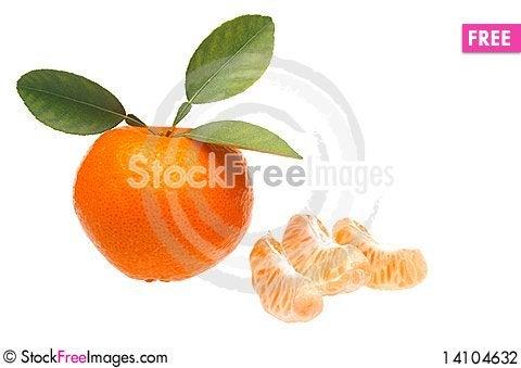 Free Mandarin Or Tangerine Stock Photography - 14104632