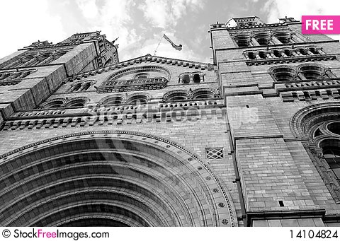 Free Natural History Museum In London Stock Images - 14104824