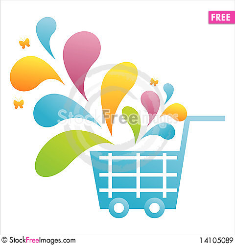 Free Colorful Basket Royalty Free Stock Images - 14105089