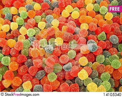 Free Colourful Drops Stock Photo - 14105340